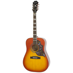 Epiphone Hummingbird Pro Acoustic Electric Guitar - Faded Cherryburst