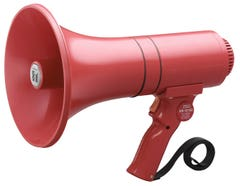 Toa ER-1215S(23W max.) Hand Grip Type Megaphone with Siren