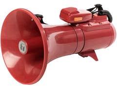 TOA ER2215S 15W SHOULDER MEGAPHONE W/ SIREN