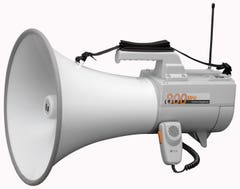 TOA ER-2930W Shoulder Type Megaphone with Whistle