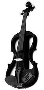Carlo Giordano Electric Violin 4/4  EV202CBK4/4
