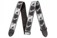 "Fender 2"" Guitar Strap - Black/Grey/Dark Grey"