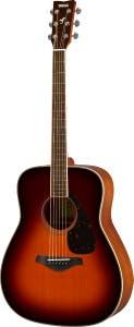 Yamaha FG820 Acoustic Guitar - Brown Sunburst