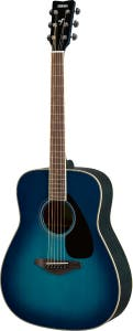 Yamaha FG820 Acoustic Guitar - Sunset Blue