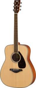 Yamaha FG820NT Acoustic Guitar - Natural