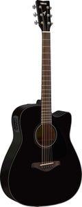 Yamaha FGX800C Acoustic/Electric Guitar - Black