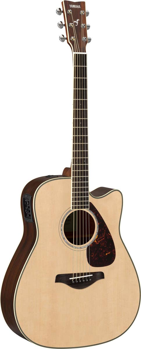 Yamaha FGX830CNT Solid Top Acoustic/Electric Guitar - Natural