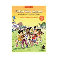 Fiddle Time Joggers Book & CD (Oxford)