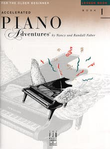 Accelerated Piano Adventures Book 1 Lesson (Faber)