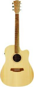 Cole Clark CCFL1EC-BM Acoustic Electric Guitar w/Gigbag - Bunya/Maple