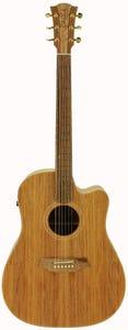 Cole Clark CCFL2EC-BLBL Acoustic Electric Guitar w/Case - Blackwood