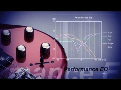 Yamaha TRBX174 Bass Guitar - Red Metallic