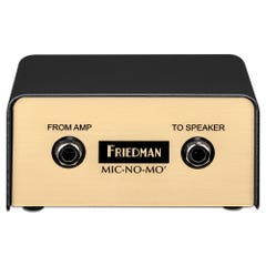 "Friedman ""Mic-No-Mo"" Passive Guitar Cabinet Emulated DI Box"