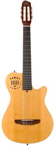 Godin Grand Concert Duet Ambiance Nylon String Electric Guitar - Natural