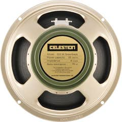 "Celestion Classic Greenback 12"" 25W Speaker"