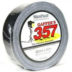 Nashua Gaffer's Tape 357 48mm x 40m Roll Black (Gaffa Tape)