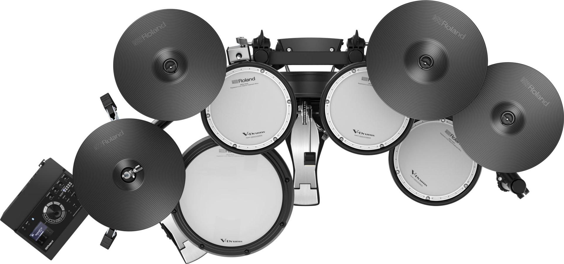 Roland V-Drums TD-17KVX Electronic Drum Kit w/Bluetooth (TD17KVXS)