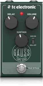 TC Electronic Gauss Tape Echo Pedal