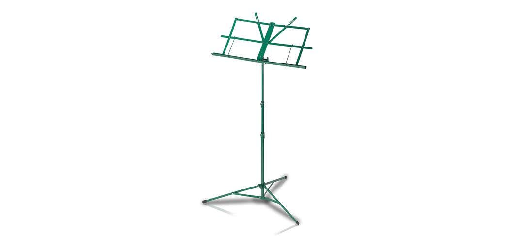 Armour lightweight foldable music stand with bag - Green (MS3127GR)