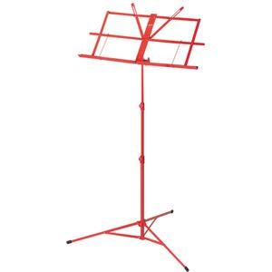 Armour lightweight foldable music stand with bag - Red (MS3127R)