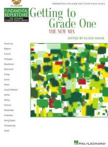 hlspl getting to grade one new mix BK/CD / MILNE (HAL LEONARD)