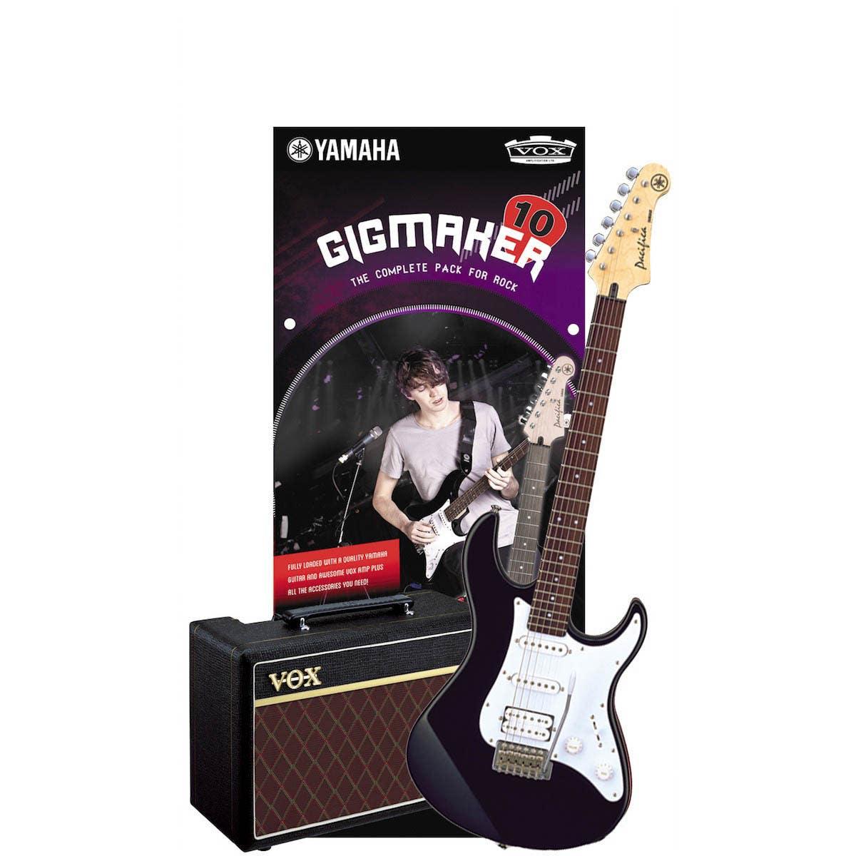 Yamaha Gigmaker10 Electric Guitar Starter Pack - Black