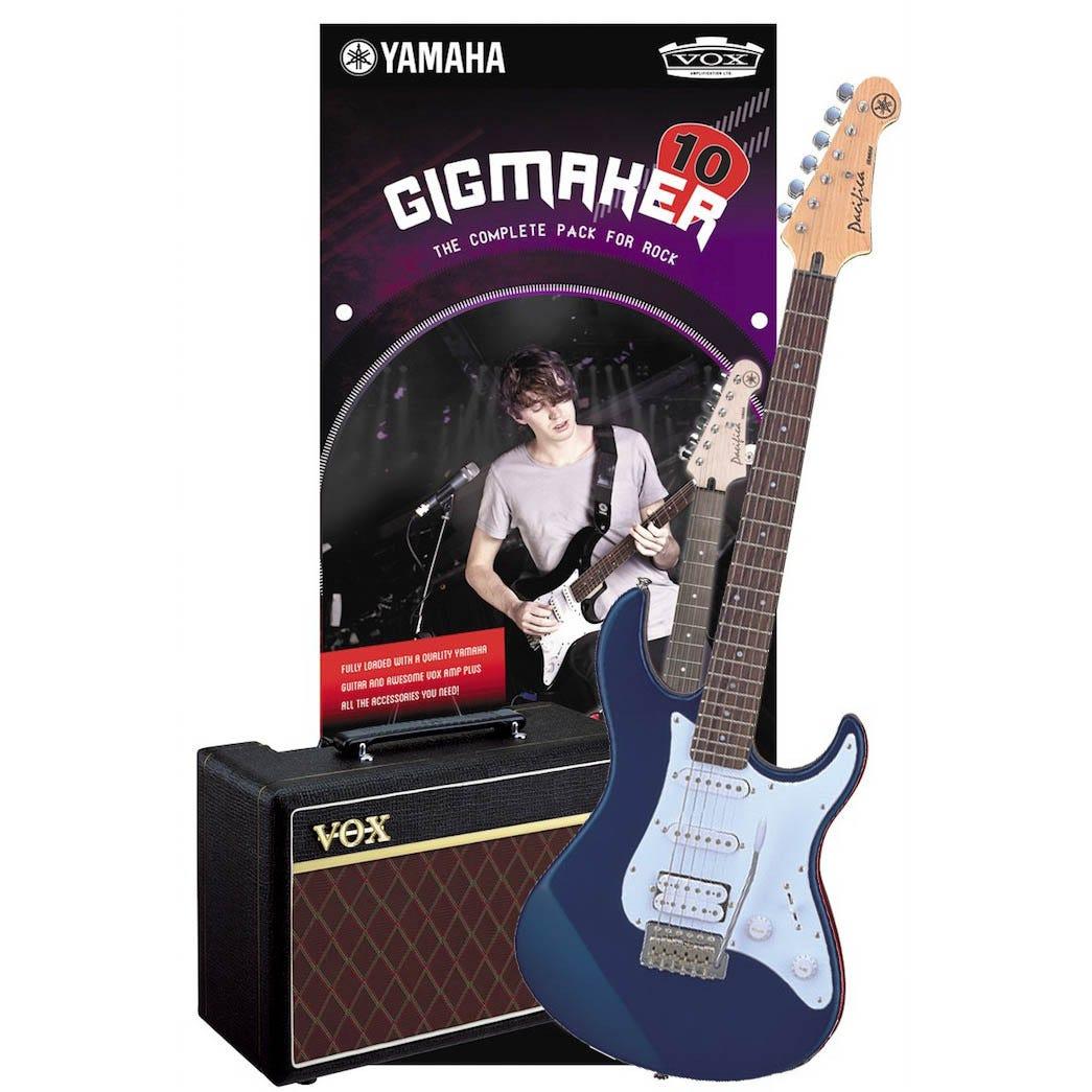 Yamaha Gigmaker10 Electric Guitar Starter Pack - Dark Blue Metallic