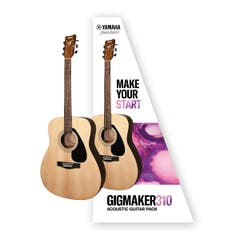 Yamaha Gigmaker F310 Value Added Acoustic Guitar Pack - Natural