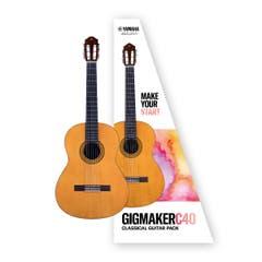 Yamaha C40 Gigmaker Classical Guitar Pack w/FREE GIGBAG!