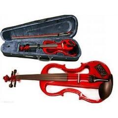 Carlo Giordano Electric Violin 4/4 Red EV202CRD4/4