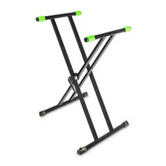 Gravity KSX2 Double Braced Keyboard Stand X-Frame w/VariFoot