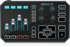 TC Helicon GoXLR Compact Broadcast Mixer w/MIDAS Preamps