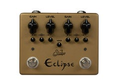 Suhr Eclipse Dual Overdrive/Distortion Pedal - Limited Edition Gold
