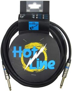 Hot Line 10ft Instrument Cable (Straight - Straight)