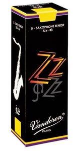 Vandoren zz jazz tenor sax reeds - box of 5 - strength 3.0