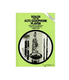 solos for the alto saxophone player / teal (schirmer)