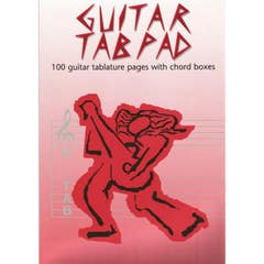 guitar tab pad (with chord boxes) /  (ALLANS)