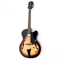 Hofner Blue Tone Super-Luxe Hollowbody Guitar - Sunburst