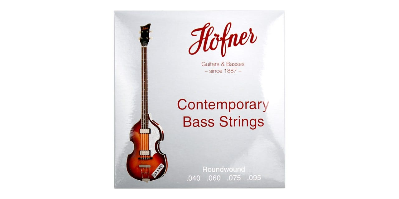 Hofner Contemporary Roundwound Bass Guitar Strings (HCT1133R)
