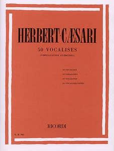 50 vocalises vowelisation / HERBERT CAESARI (RICORDI)