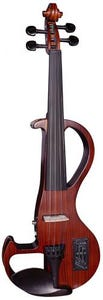 Hidersine Electric Violin Outfit - Zebrawood Finish