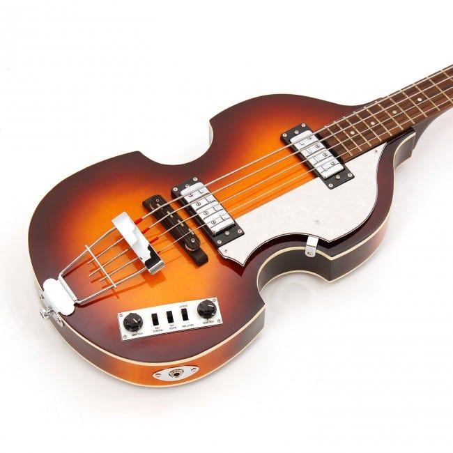 Hofner Ignition 4-String Short-scale Violin Bass - Sunburst