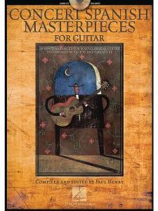 Concert Spanish Masterpieces for Guitar - Book & CD (Hal Leonard)