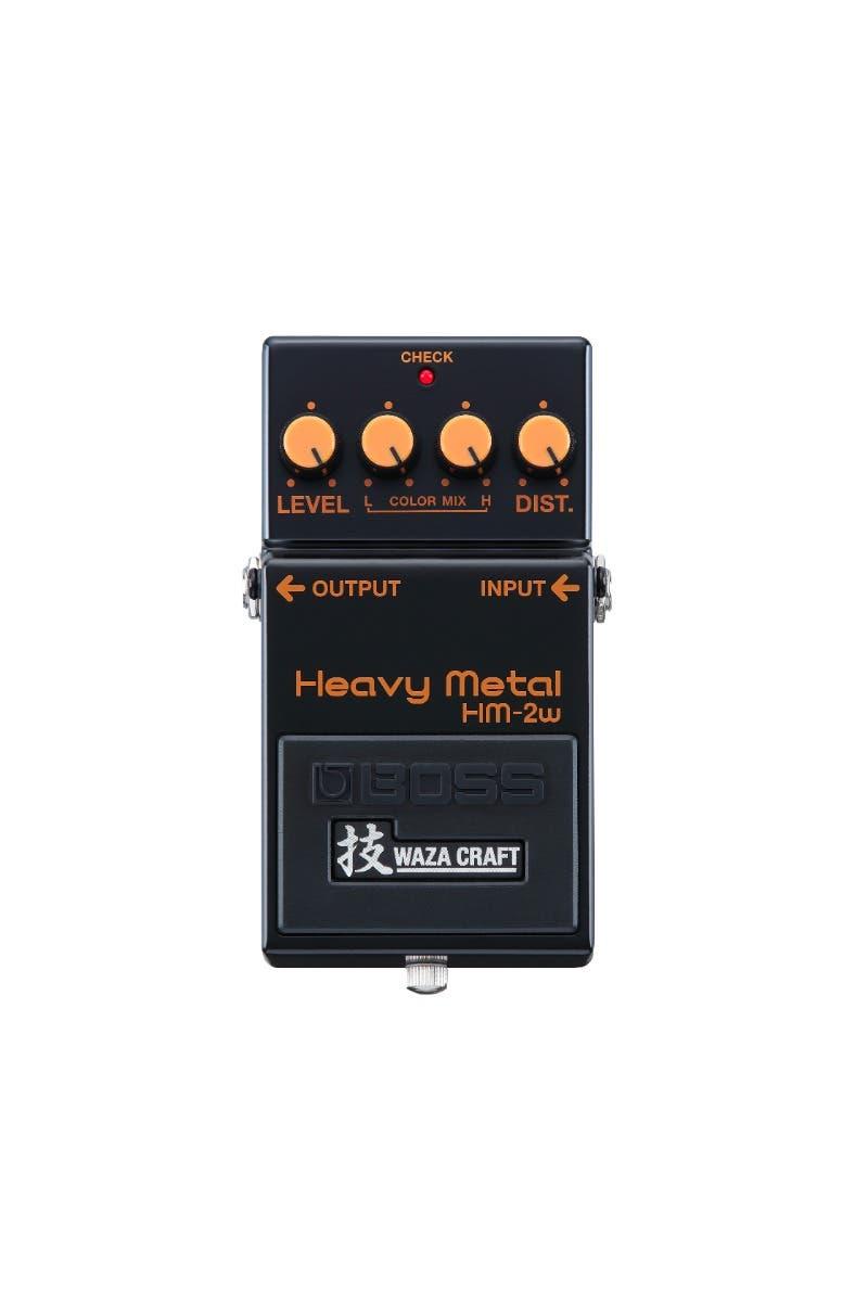 Boss HM-2W Waza Craft Heavy Metal Distortion Pedal (HM2W)