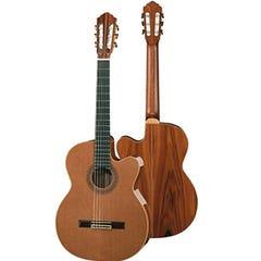 Hofner Master Series Classical Guitar w/ Cutaway and Pickup (HM86-E)