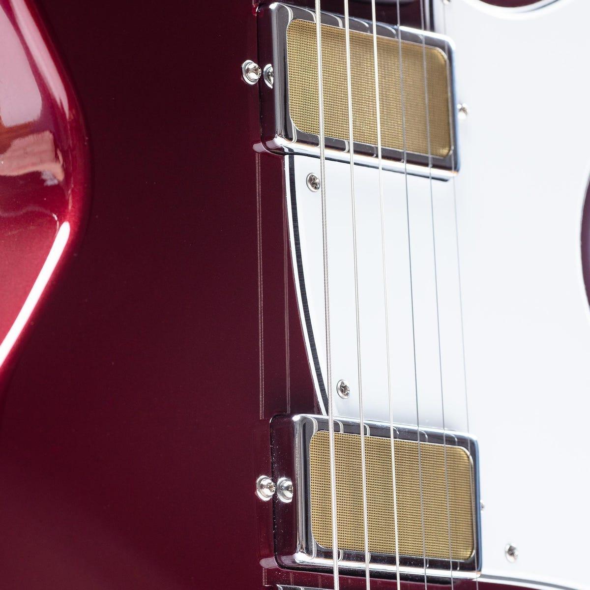 Harmony Rebel Electric Guitar w/MONO Bag - Burgundy