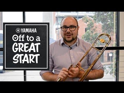Yamaha YSL456A Intermediate Trombone with F/Bb Trigger (YSL-456A)