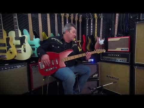 Reverend Triad 4-String Bass - Purple Burst