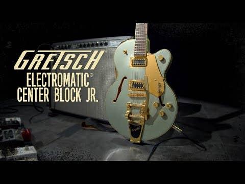 Gretsch G5655TG Electromatic Center Block Jr. Guitar w/Bigsby - Cadillac Green