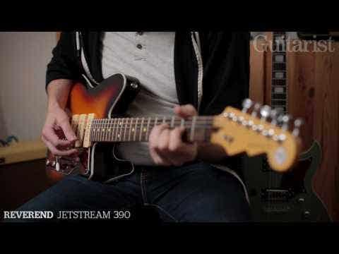 Reverend Jetstream 390 Electric Guitar - Chronic Blue